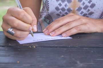 letter writing a lost art by Mary Bonner